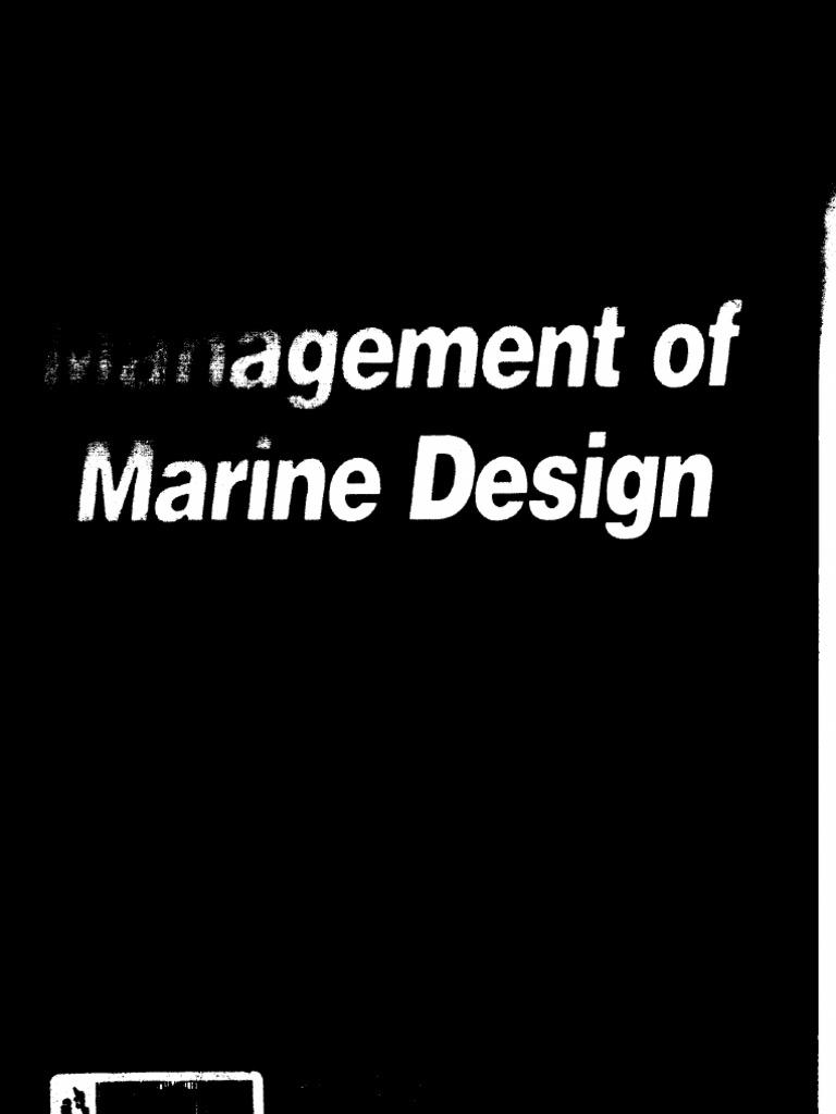 Management of Marine Design | Expert | Specification