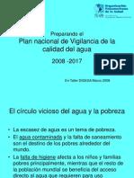 Plan Nacional de Vig. de Agua