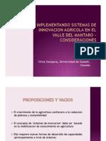 Presentacion Facultad de Agronomia 2012