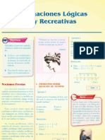 Situaciones lógicas y recreativas