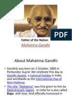 Mahatma Gandhi - Culture 3 & 4