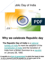 Republic Day celebration - Cullture 3 & 4