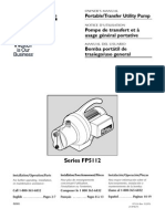 Flotec Water Pumps Owner's manual - Model FP324-Sprinkler Pump