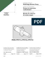 Flotec Water Pumps Owner's manual - Model FP327