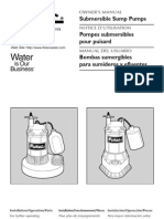 Flotec Water Pumps Owner's manual - Model FP526