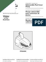 Flotec Water Pumps Owner's manual - Model FP545