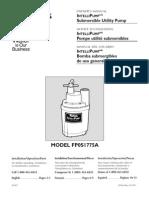 Flotec Water Pumps Owner's manual - Model FP566