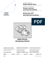 Flotec Water Pumps Owner's manual - Model FP569