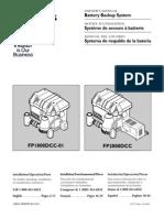 Flotec Water Pumps Owner's manual - Model FP739