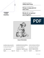 Flotec Water Pumps Owner's manual - Model FP847