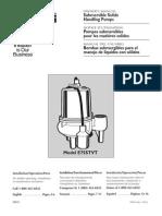Flotec Water Pumps Owner's manual - Model FP893