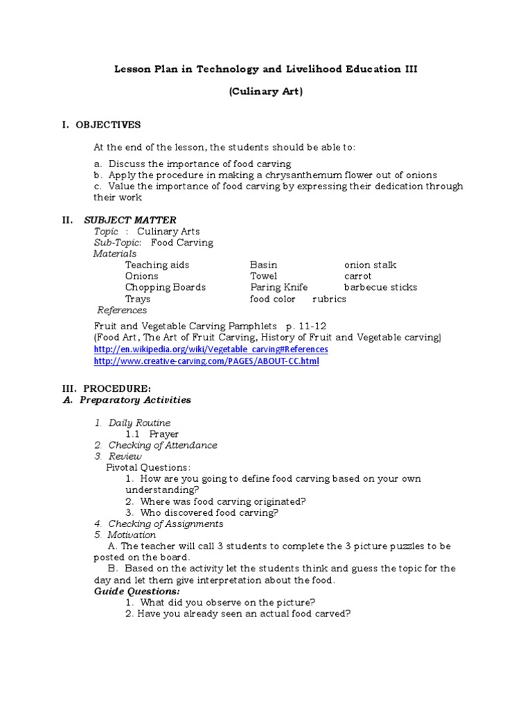 semi detailed lesson plan in english English semi-detailed lesson plan (adjectives as describing words)docx - free  download as word  at the end of the lesson, the students should be able to.