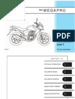 Katalog Suku Cadang New MegaPro 150