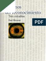 54229981 Ricoeur Paul Caminos Del Reconocimiento