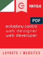 Showcase Portfolio Webdesigner Estefany