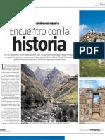El Valor de Huanuco Pampa - Suplemento Variedades
