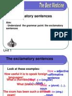 The Exclamatory Sentences
