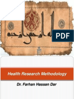 Health Research Methadology