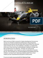 Formula1 Race-car Aerodynamics