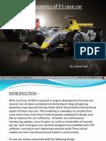 Formula1 Race-car Aerodynamics