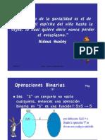 Carcifu - Operaciones Binarias