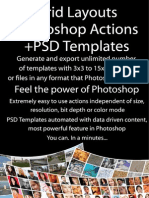 Grid Layouts Actions and PSD Templates