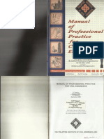 pice manual of professional practice for civil engineers