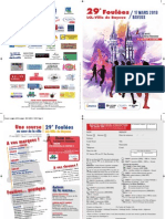 Flyer Foulées_2013