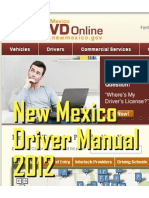 New Mexico Driver Manual - 2013
