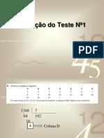 Correção Teste1