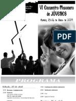 VI Encuentro de Jóvenes Misioneros (O.M.P España)