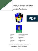 Pengertian Sistem, Informasi, Dan Sistem Informasi Manajemen