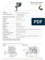 Yanmar JH4 Marine Diesel Operations Manual | Internal