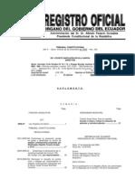 Ley Organica Salud Ecuador