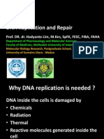 DNA REPLICATION AND REPAIR