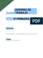 6Cuaderno de Trabajo - 4º de Primaria