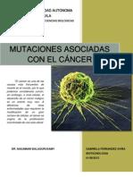 Mutaciones Asociadas Con El Cancer