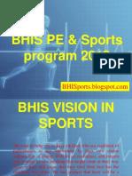 BHIS PE & Sports detailed presentation