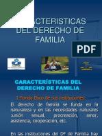 Caracteristicas Del Derecho de Familia