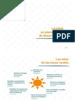 Diapositivas Cap 2 LEADER, un planteamiento de desarrollo rural