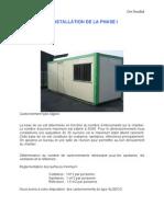 Installation de Chantier-3