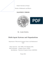 Multi-Agent Systems and Organizations (Master's Thesis)