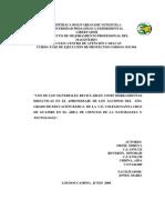 EL RECICLAJE - FASE DE EJECUCIÓN CARACAS