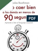 Nicholas Boothman - Como Caer Bien  A Los Demas En Menos De 90 Segundos.pdf