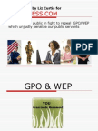 Social Security Fairness - WEP & GPO Explained