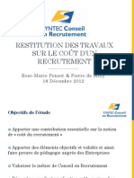 Syntec - Cout Recrutement