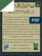 Shadow Writings 3
