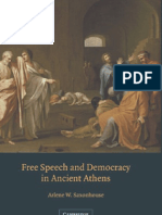 Free speech and democracy in ancient athens