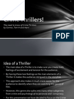 Crime Thriller PowerPoint