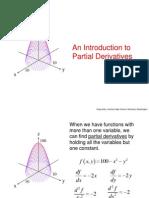 Calculus III- Partial Derivatives